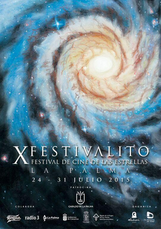 El Festivalito de La Palma_Festival de Cine de las Estrellas se celebrará del 24 al 31 de julio